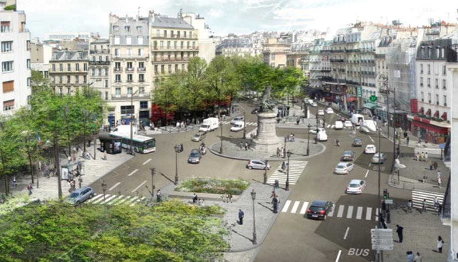 Paris la nouvelle place clichy augure d autres for Place de clichy castorama